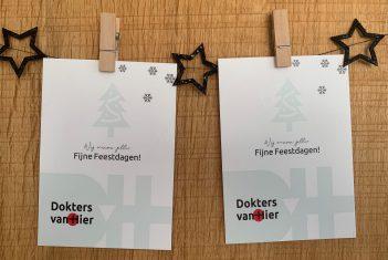 Kerstkaart 2 Dokters Huisartsenpraktijk Heer Maastricht